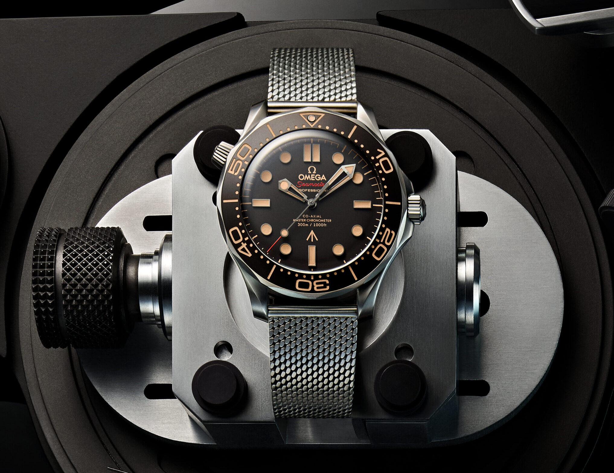 Die OMEGA Seamaster Diver 300M 007 Edition – jetzt bei uns erhältlich