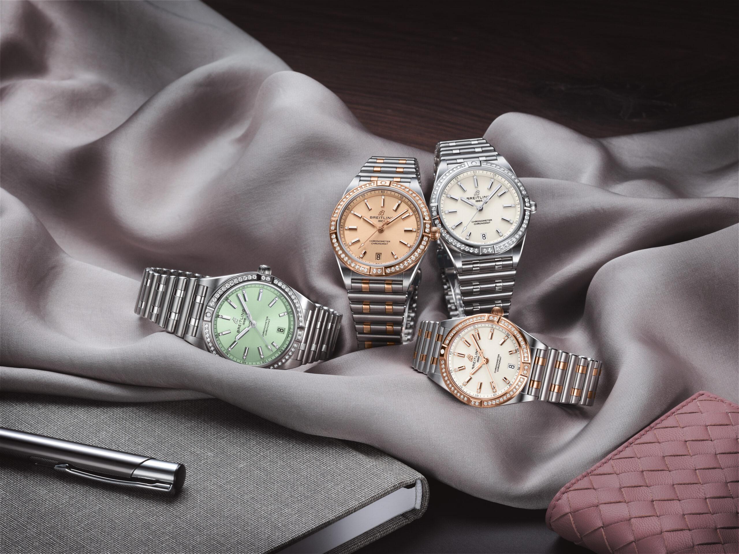 Die neue Breitling Damenlinie Chronomat 36 und 32 kommt nach Basel