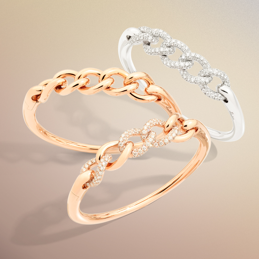 Armreifen der Kollektion Catene Pomellato bei Mezger Uhren und Juwelen Basel